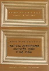 Okładka książki Polityka zewnętrzna Księstwa Rugii (1168-1328)