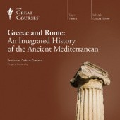 Okładka książki Greece and Rome: An Integrated History of the Ancient Mediterranean