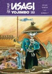 Okładka książki Usagi Yojimbo Saga. Księga 7