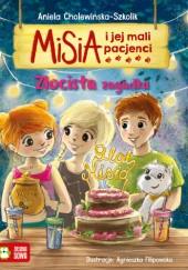 Okładka książki Misia i jej mali pacjenci. Złocista zagadka