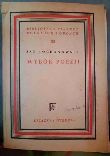 Okładka książki Wybór poezji Jan Kochanowski