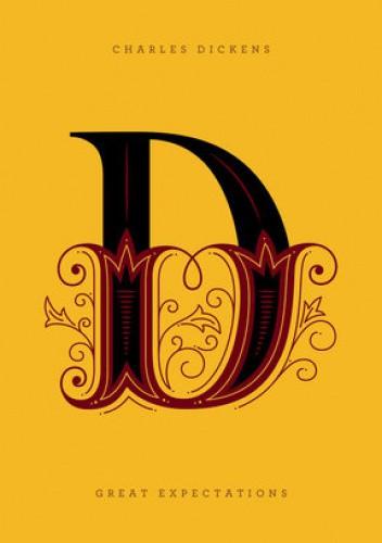 Okładka książki Great Expectations Charles Dickens
