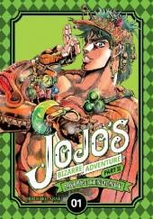 Okładka książki JoJo's Bizarre Adventure: Part 2 - Battle Tendency, Tom 1