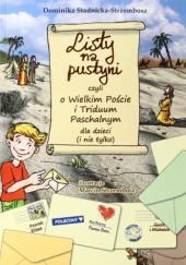 Okładka książki Listy na pustyni czyli o Wielkim Poście i Triduum Paschalnym dla dzieci (i nie tylko)