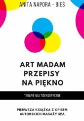 Okładka książki Art Madam - przepisy na piękno - terapie multisensoryczne