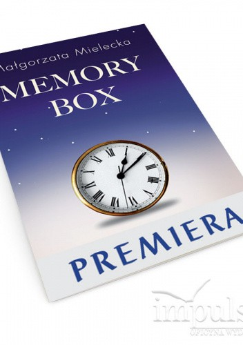 Okładka książki Memory Box Małgorzata Mielecka