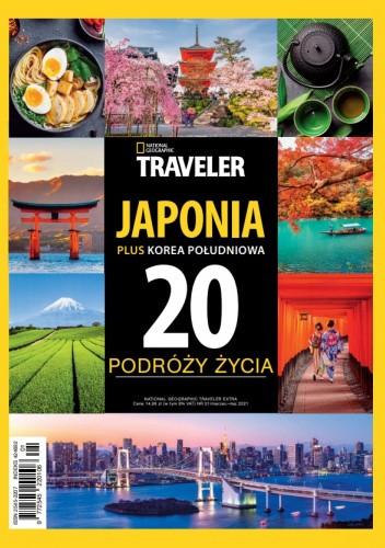 Okładka książki National Geographic Traveler Extra Japonia plus Korea Południowa Agnieszka Franus