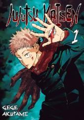 Okładka książki Jujutsu Kaisen tom 1