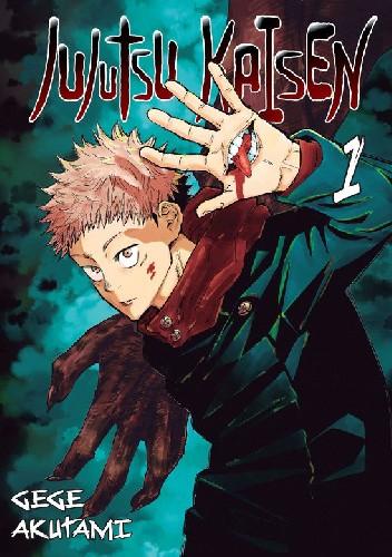 Okładka książki Jujutsu Kaisen tom 1 Gege Akutami