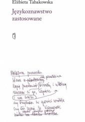 Okładka książki Językoznawstwo zastosowane