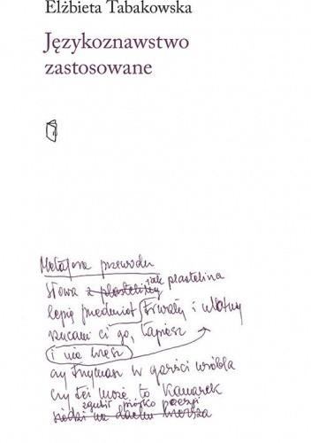 Okładka książki Językoznawstwo zastosowane Elżbieta Tabakowska