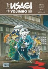 Okładka książki Usagi Yojimbo Saga. Księga 8