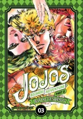 Okładka książki JoJo's Bizarre Adventure: Part 2 - Battle Tendency, Tom 3