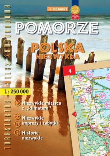 Okładka książki Polska Niezwykła. Pomorze Jolanta Nitkowska-Węglarz