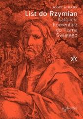 Okładka książki List do Rzymian. Katolicki Komentarz do Pisma Świętego.
