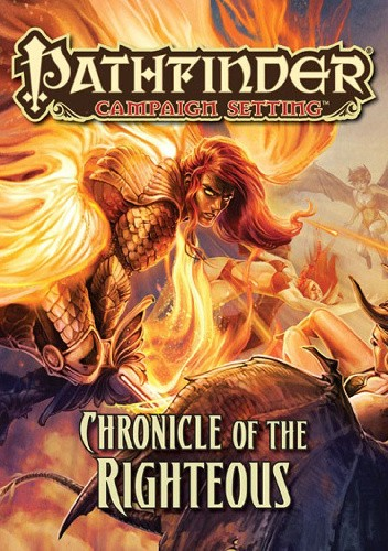 Okładka książki Pathfinder Campaign Setting: Chronicle of the Righteous Amber Scott