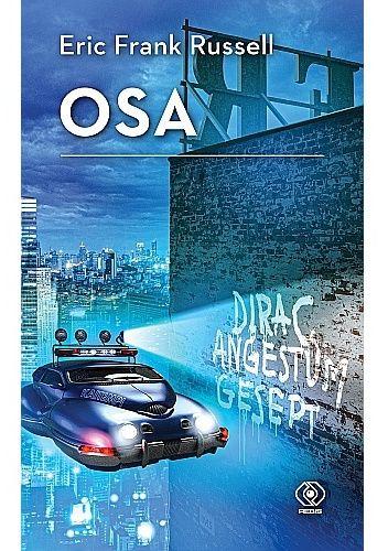 Okładka książki Osa Eric Frank Russell