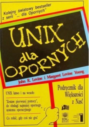 Okładka książki UNIX dla opornych John R. Levine,Margaret Levine Young