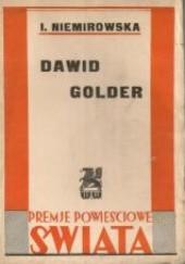 Okładka książki Dawid Golder