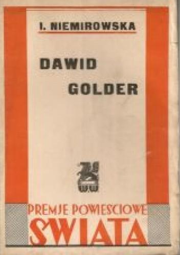 Okładka książki Dawid Golder Irène Némirovsky