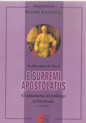 Okładka książki E supremi apostolatus