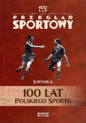 Okładka książki 100 lat polskiego sportu