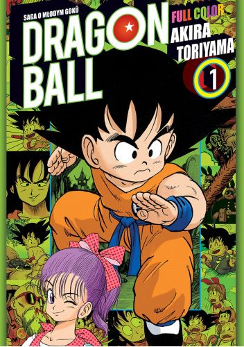 Okładka książki Dragon Ball Full Color Saga 1 tom 1 Akira Toriyama
