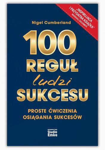 Okładka książki 100 reguł ludzi sukcesu Nigel Cumberland