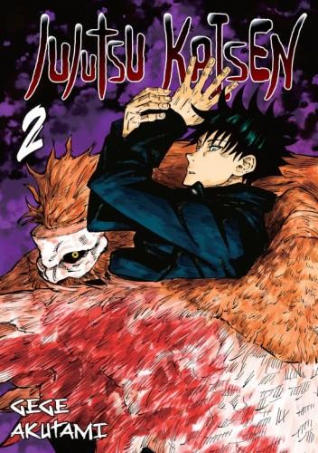 Okładka książki Jujutsu Kaisen tom 2 Gege Akutami