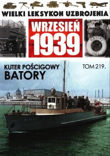 Okładka książki Kuter pościgowy Batory Maciej Tomaszewski