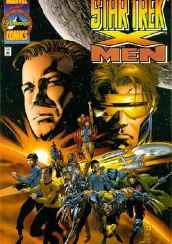 Okładka książki Star Trek/X-Men Scott Lobdell