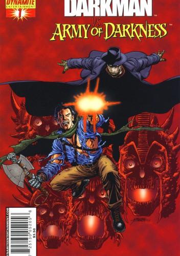Okładka książki Darkman vs. Army of Darkness Kurt Busiek,James Fry,Roger Stern
