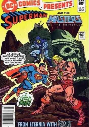 Okładka książki Superman and the Masters of the Universe Paul Kupperberg