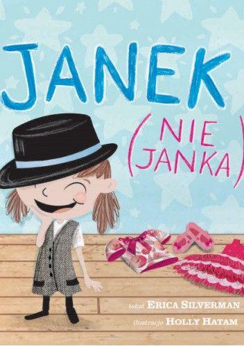 Okładka książki Janek (nie Janka) Holly Hatam,Erica Silverman