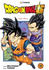 Okładka książki Dragon Ball Super #12: Prawda o Merusie
