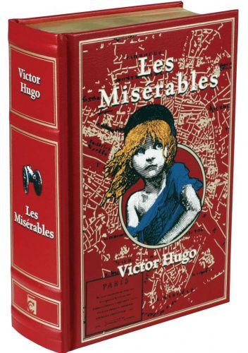 Okładka książki Les Miserables Victor Hugo