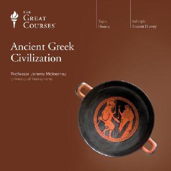 Okładka książki Ancient Greek Civilization Jeremy McInerney