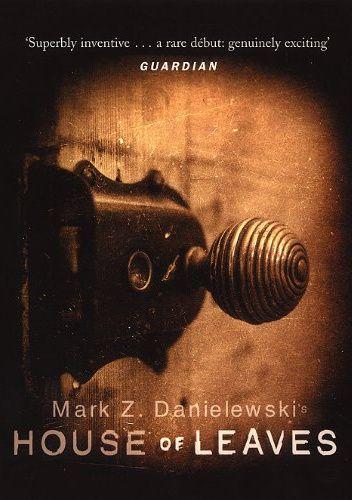 Okładka książki House of Leaves Mark Z. Danielewski
