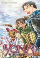 Okładka książki Yona w blasku świtu #13
