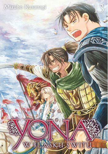 Okładka książki Yona w blasku świtu #13 Mizuho Kusanagi
