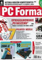 Okładka książki PC Format 4/2021 (235)