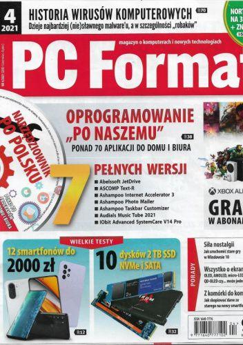Okładka książki PC Format 4/2021 (235) Redakcja PC Format