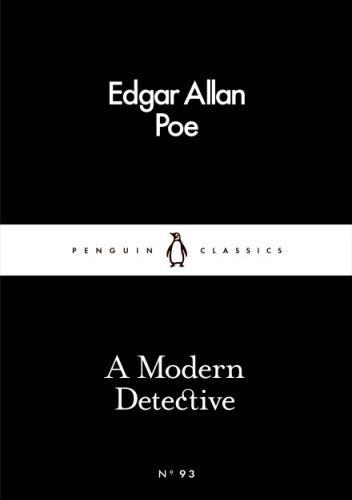 Okładka książki A Modern Detective Edgar Allan Poe