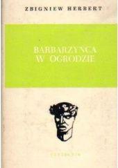 Okładka książki Barbarzyńca w ogrodzie