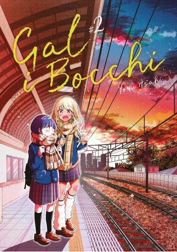 Okładka książki Gal i Bocchi #2 Yoru Asahi