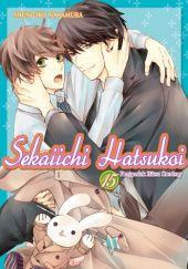 Okładka książki Sekaiichi Hatsukoi. Przypadek Ritsu Onodery #15