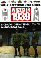 Okładka książki Dodatki i odznaczenia mundurowe cz.2