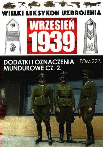 Okładka książki Dodatki i odznaczenia mundurowe cz.2 Paweł Janicki