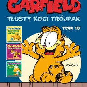Okładka książki Garfield. Tłusty koci trójpak, tom 10 Jim Davis