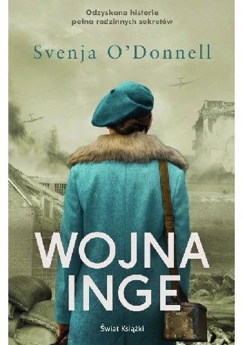 Okładka książki Wojna Inge Svenja O'Donnell